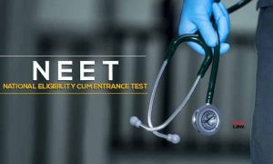 neet exam to become a doctor