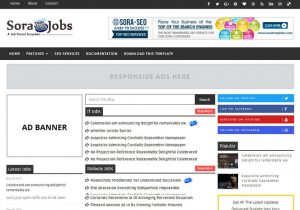 sora-job-blogger-template-for-job-website