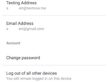 How to Delete a TextNow Account